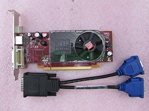 Dell FM351 ATI Radeon HD 2400 XT 256MB DDR3 64Bit PCIe x16 Video Card + Splitter Express 256mb Gddr3 Video Card