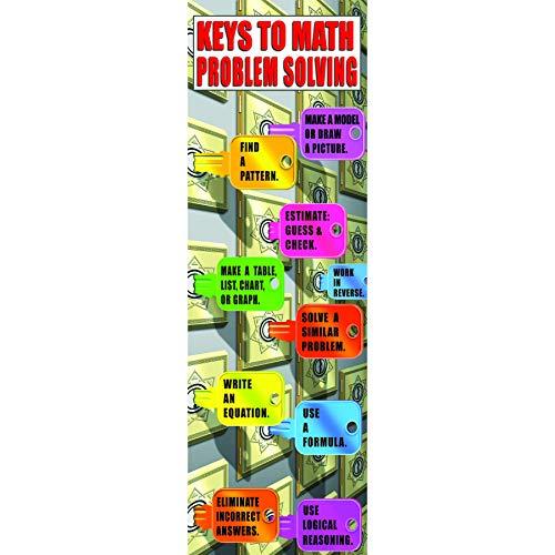 McDonald Publishing MC-V1664 Math Problem-Solving Strategies Colossal Concept Poster, 18.2