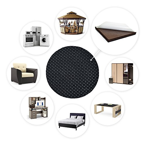 Non slip furniture pads x protector premium 8 pcs 4 pad for Furniture grippers
