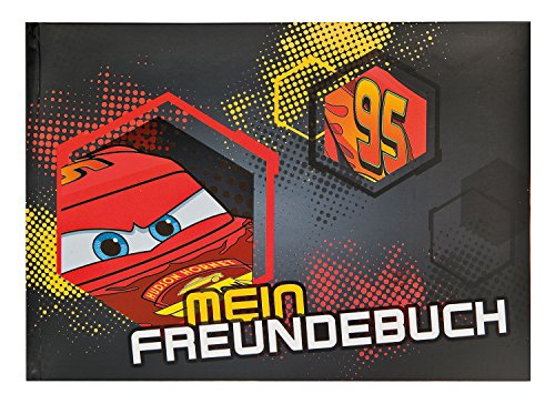 Undercover CAIM0962 - Freundebuch A5 Disney Cars, rot