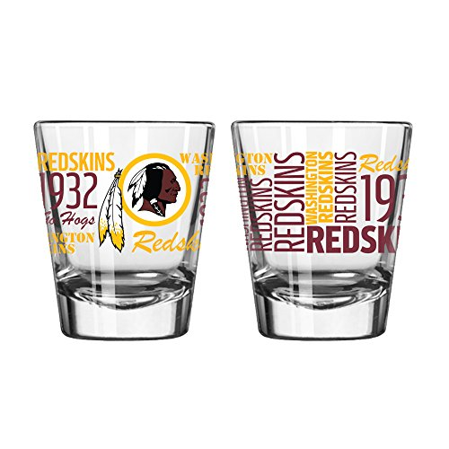 NFL Washington Redskins 2 OZ Spirit Shot Glass