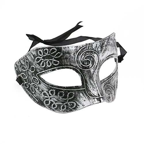 TINKSKY Masquerade Face Mask Men Roman Mask for Fancy Dress Ball Party -