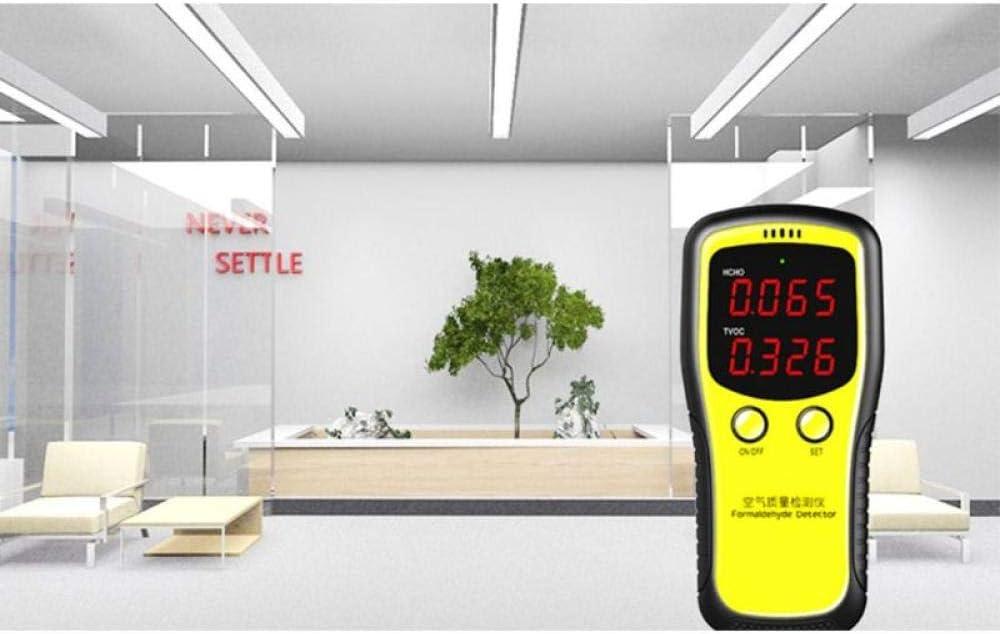 Medidor de di/óxido de carbono digital port/átil con pantalla LCD PM 2,5 para interiores LFWQ