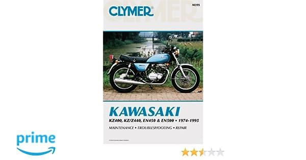 kawasaki kz400 z440 en450 500 74 95 penton staff 9780892876792