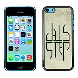LECELL -- Funda protectora / Cubierta / Piel For Apple iPhone 5C -- Dub Step DUBSTEP --