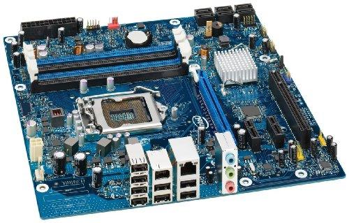 Intel LGA1156/Intel P55/DDR3/A&GbE/MATX Motherboard, Bulk (P55 Lga1156 Ddr3 Core)