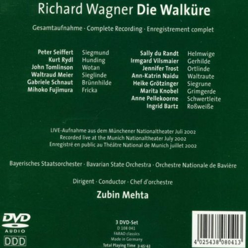 Die Walküre (Complete Recording) - Live at the Bavarian State Opera, July 2002 - Richard Wagner by Farao Classics