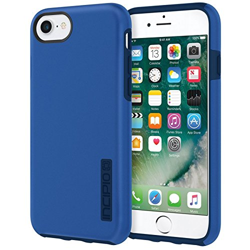 wholesale dealer d744d 774cf iPhone 7 Case, Incipio [Hard Shell] [Dual Layer] DualPro Case for iPhone  7-Iridescent Nautical Blue/Blue