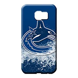 samsung galaxy s6 edge Attractive Style Protective Cases mobile phone back case vancouver canucks