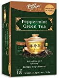 Peppermint Green Tea Prince Of Peace 18 Bags Box Review