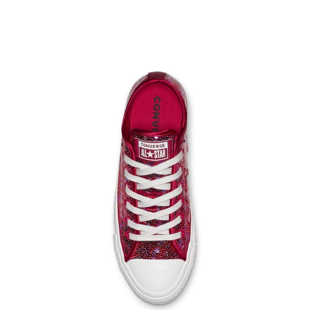 f0260208c2d24b Converse CTAS OX 562448C Cherry Red Womens UK 3-8  Amazon.co.uk  Shoes    Bags