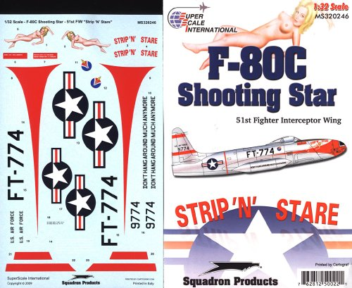 Superscale USA F-80C Shooting Star Decals #2