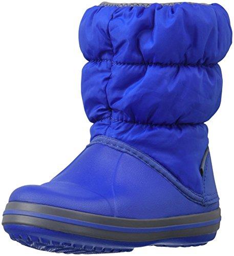 Crocs Winter Puff Snow Boot (Toddler/Little Kid), Cerulea...