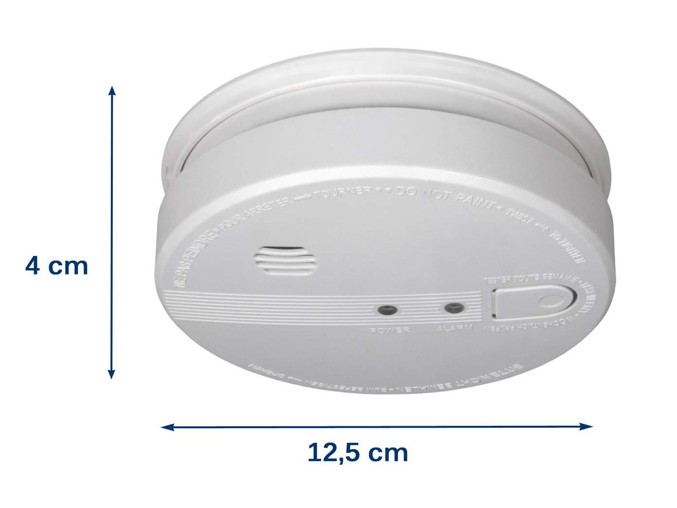 Detector de Humo con conexión de 230 V y batería de Reserva, Alarma de 85 dB, con práctico Montaje magnético Easy & Clean.: Amazon.es: Bricolaje y ...