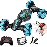 Watch control transforming twist rc stunt car 2.4Ghz remote control double sidng rock crawle rc drift car SOLALA