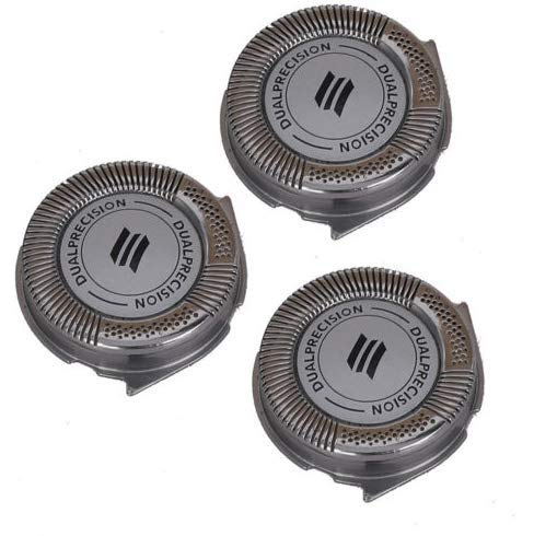 NEW Replacement Shaver Heads for Philips Norelco Spectra HQ8 HQ6073 HQ7120 PT735-3pcs
