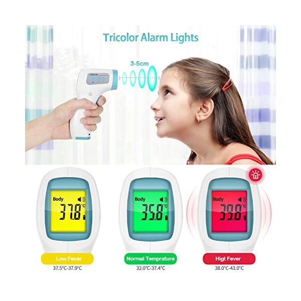 Termometro Infrarossi Termometro Digitale Allarme Temperatura Elevata Multifunzione 4 In 1 (1) 4