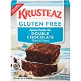 Krusteaz Gluten Free Double Chocolate Brownie Mix (Pack of 36)