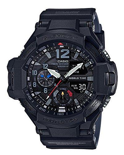 Men's Casio G-Shock Master of G Gravitymaster Black Watch GA1100-1A1