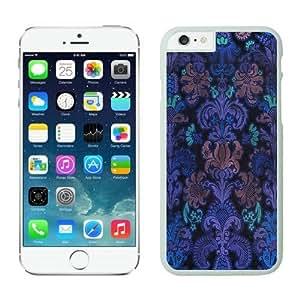 FAGUO Cheap No Minimum Colorful Damask iPhone 6 Plus Case 1 white