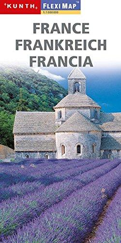 Fleximaps Magnum Frankreich (KUNTH Fleximap Magnum)