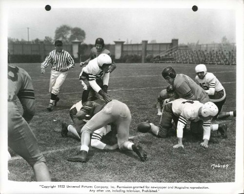 Bonzo Goes to College football chimp 8x10 1952