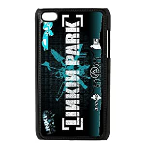 Custom High Quality WUCHAOGUI Phone case Linkin Park Music Band Protective Case FOR IPod Touch 4th - Case-9