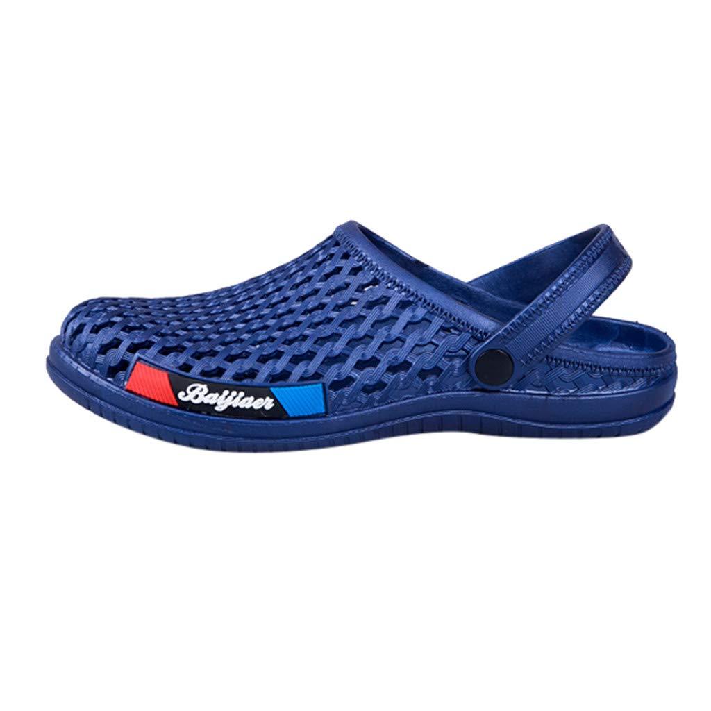 Sandales De Plage Hommes,2019 New Chaussures De Trou Double Usage Les Sandales Mode pour Mens Creusent Dérapage Respirant Chaussures De Plage en Plein Air