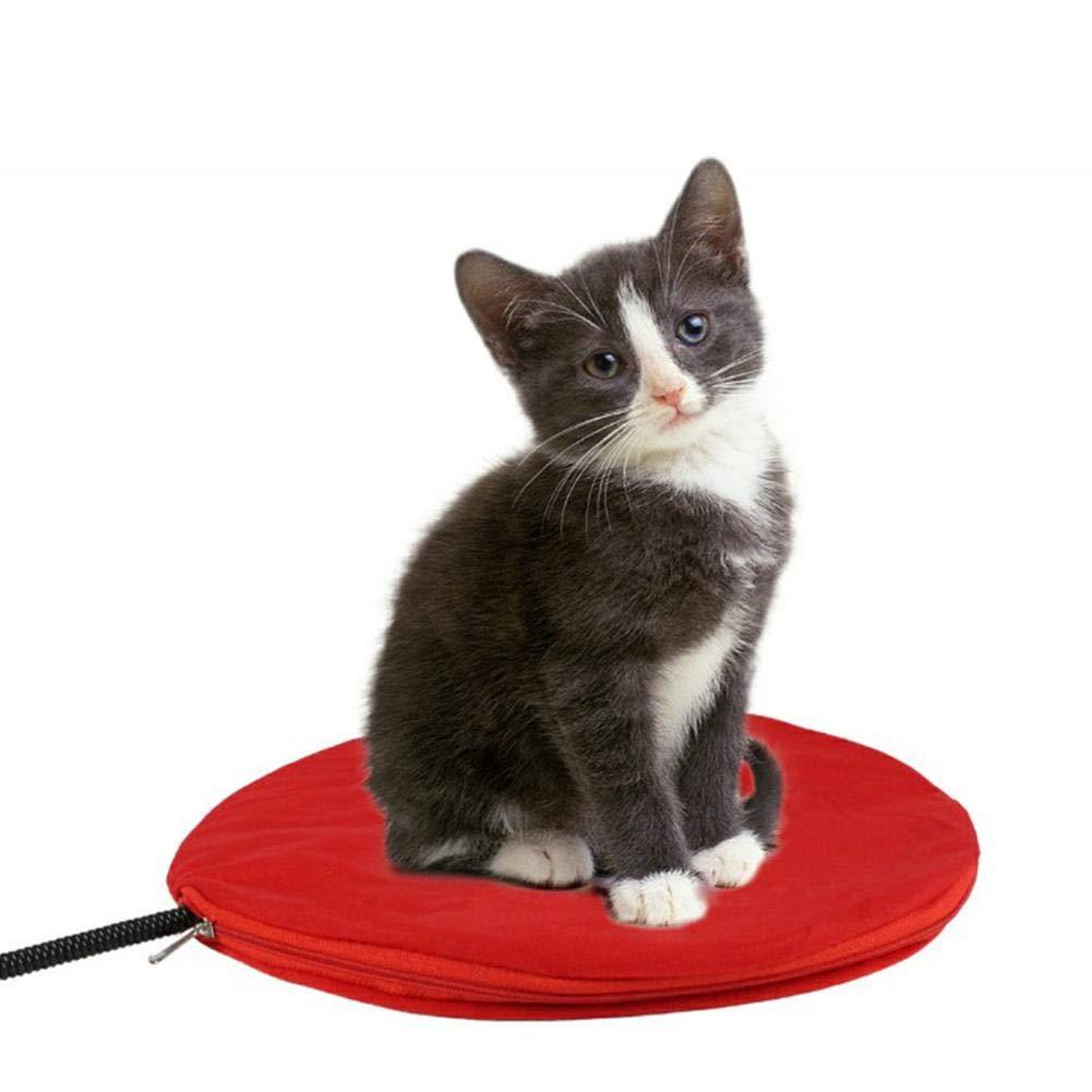 TRULIL - Calentador de Calor para Mascotas, para Perros y Gatos, 7 Tipos de Temperatura, Impermeable, termostático, Manta eléctrica para Mascotas, ...