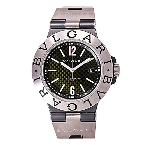 Bvlgari Diagono automatic-self-wind mens Watch TI 44 TA (Certified Pre-owned)