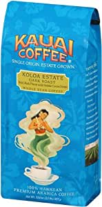 Kauai Coffee, Koloa Estate Dark Roast Whole Bean, 32 Ounce