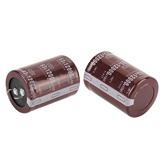 2 st/ücke Audio 63 V 12000uf Filter Elektrolytkondensator Strom Kondensator 35 /× 50mm HiFi Elektrolytkondensator f/ür Circuit Control