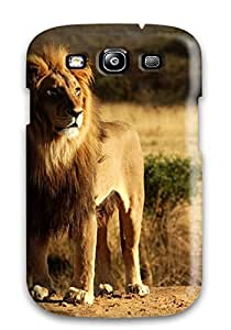Hard Plastic Galaxy S3 Case Back Cover,hot King Lion Case At Perfect Diy