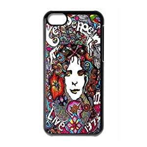 Durable Case for iPhone 5c w/ Led Zeppelin image at Hmh-xase (style 6)