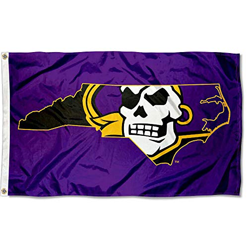 College Flags and Banners Co. East Carolina Pirates State Design Flag