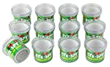 Blue Panda Bug Viewer - 12-Pack Bug Magnifier Container Insects, Bug Catcher Cage Toy, Kids Science Class, 2.9 x 2.5 x 2.5 inches