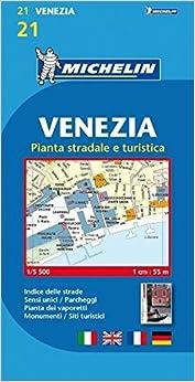 Michelin Map VeniceMestre Venezia MapsCity Michelin - Venice city map