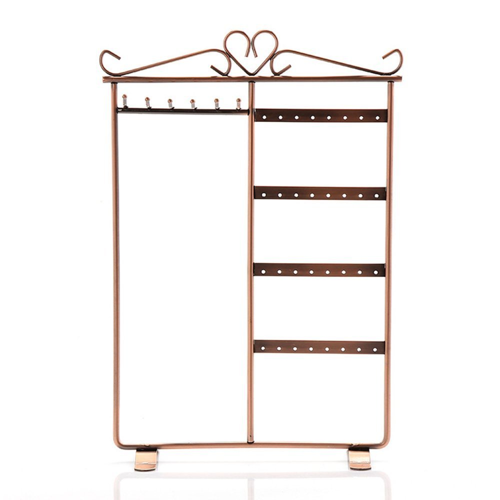 Mangadua Earring Holder Jewelry Organizer Necklace Hanger Wall Stand Rack Classic Display 32 Holes