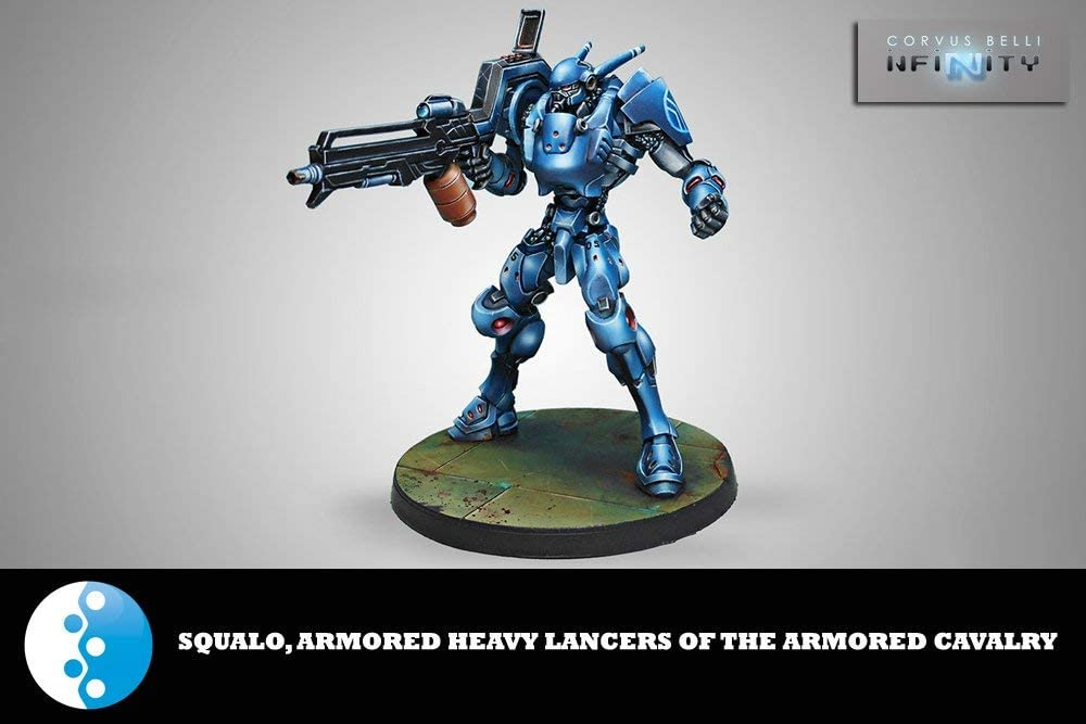 Squalo Armoured Cavalry Heavy Lancer (1) PanO Infinity Corvus Belli by Corvus Belli: Amazon.es: Juguetes y juegos