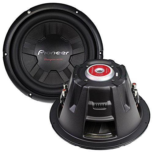 Pioneer TSW261D4 10-Inch Champion/DUAL4 OHM/1200W/40 Equalizer by Pioneer (Image #3)