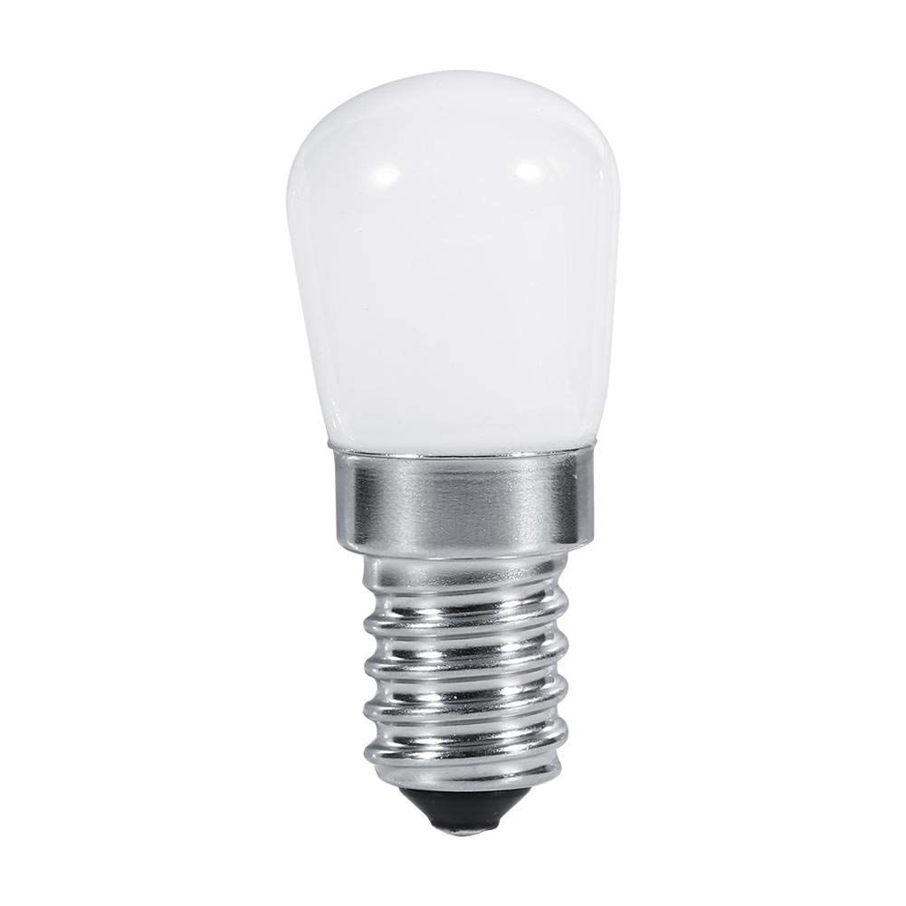 fosa E14 LED Bulb 1.5W Fridge Bulbs Replacement for 25W-30W Halogen Lamp 110V/220V 180lm 360° Beam Angle-Non Dimmable-Low Heat for Refrigerator/Cooker Hood/Sewing Machine(110V Cool White)