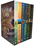 Warrior Cats Series 1: The Prophecies Begin - 6 Books Collection Set By Erin Hunter (In to the Wild, Fire and Ice, Forest of Secrets, Rising Storm, A Dangerous Path, The Darkest Hour)