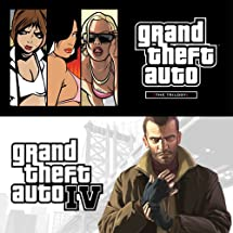 GTA TRILOGY + GTA IV [Online Game Code]