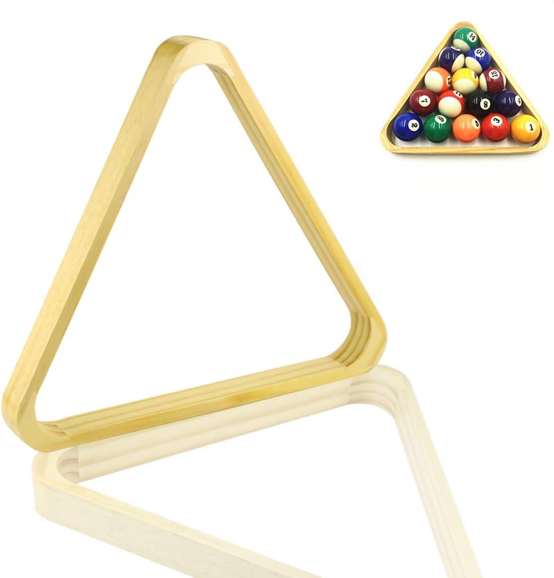 1.8//2//2.5inch Plastic Pool Ball Billiard Table Triangle Rack Game Equipment Tool