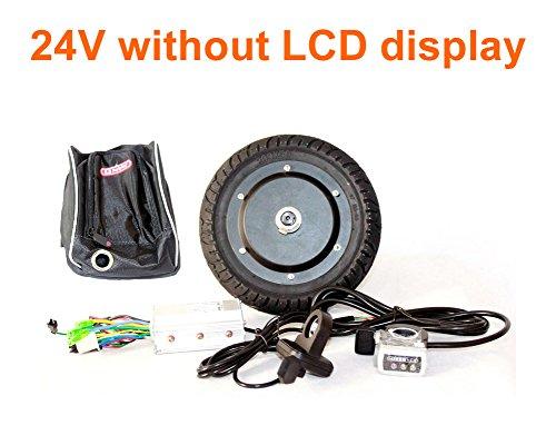 350 W 8インチ電動スクーターハブブラシレスモーターキットCan with LCD表示WuxingスロットルDIY電動スクーターTown 7 XL