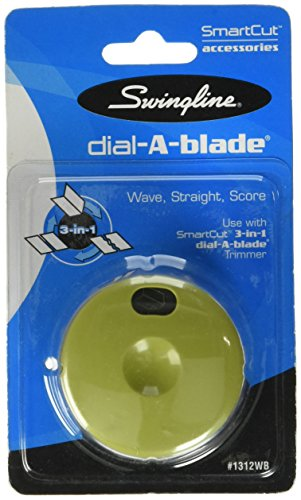 Swingline SmartCut Wave/Straight/Score 3-in-1 Trimmer Replacement Dial -1312WBA