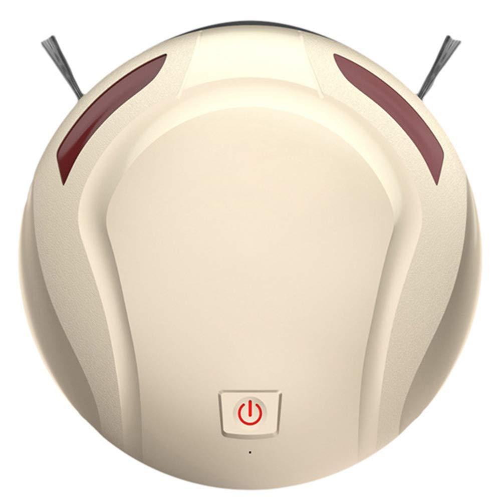 HCYING Robot Aspirador de Limpieza Patentado Aspiradora de Suciedad 1000Pa 3 Fases Sin Pelos Polvo y Mascotas Vacuum Cleaner Limpio Autoajustable Sensor ...