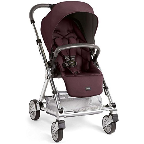 Chrome Chassis - Mamas & Papas 2015 Urbo2 Stroller w/ Chrome Chassis - Mulberry