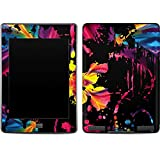 Abstract Art Kindle Touch Skin - Chromatic Splatter Black Vinyl Decal Skin For Your Kindle Touch