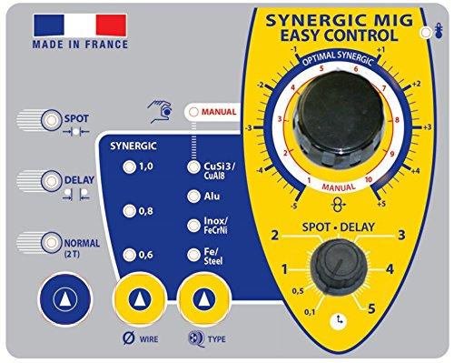 gelb GYS MIG//MAG Schwei/ßger/ät Trimig 200-4S Dreiphasig 400 V 30-200 A